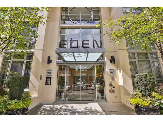 Main Photo: 908 1225 Richards Street in Vancouver: Downtown Condo for sale : MLS®# v1119512