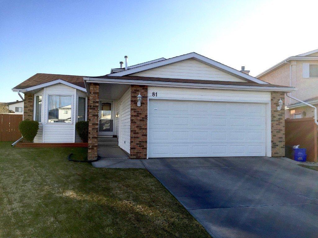 Main Photo: 81 Ozerna Road NW: Edmonton House for sale : MLS®# E4028912