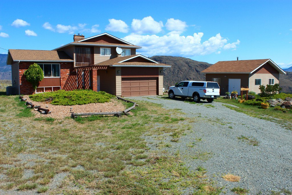 Photo 1: Photos: 5877 Buckhorn Road in Kamloops: Cherry Creek House for sale : MLS®# New
