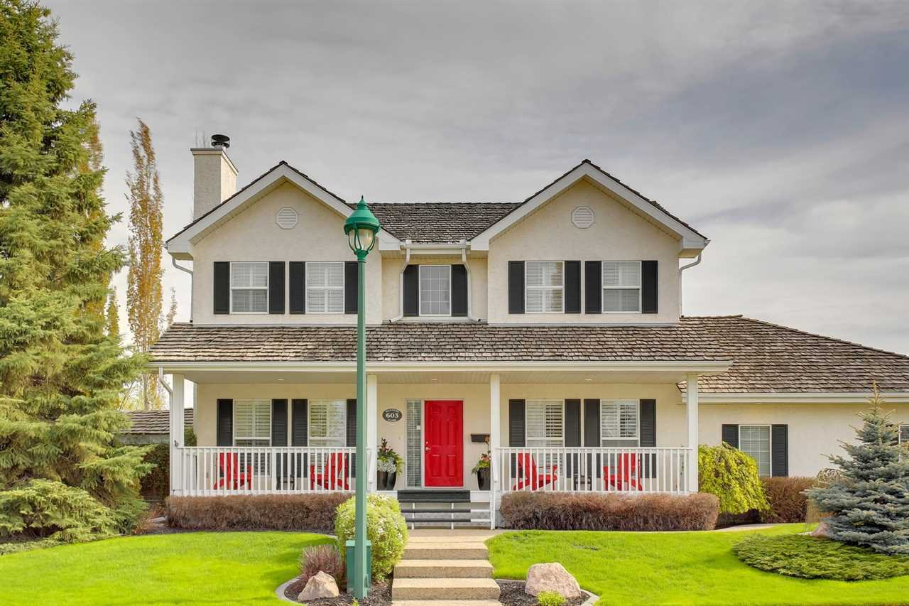 Main Photo: 603 HUNTERS Close in Edmonton: Zone 14 House for sale : MLS®# E4198057