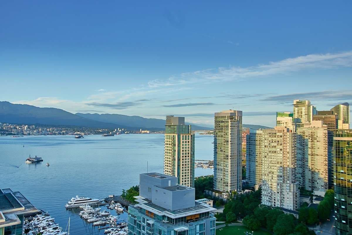Main Photo: 2802 1499 W Pender Street. Vancouver