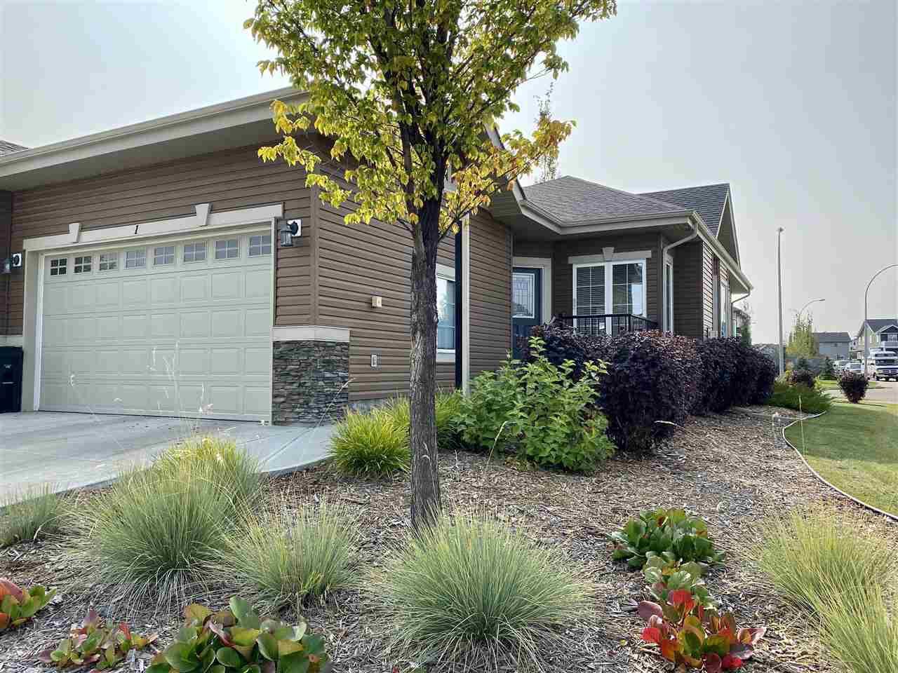 Main Photo: 1 4001 ETON Boulevard: Sherwood Park House Half Duplex for sale : MLS®# E4215412