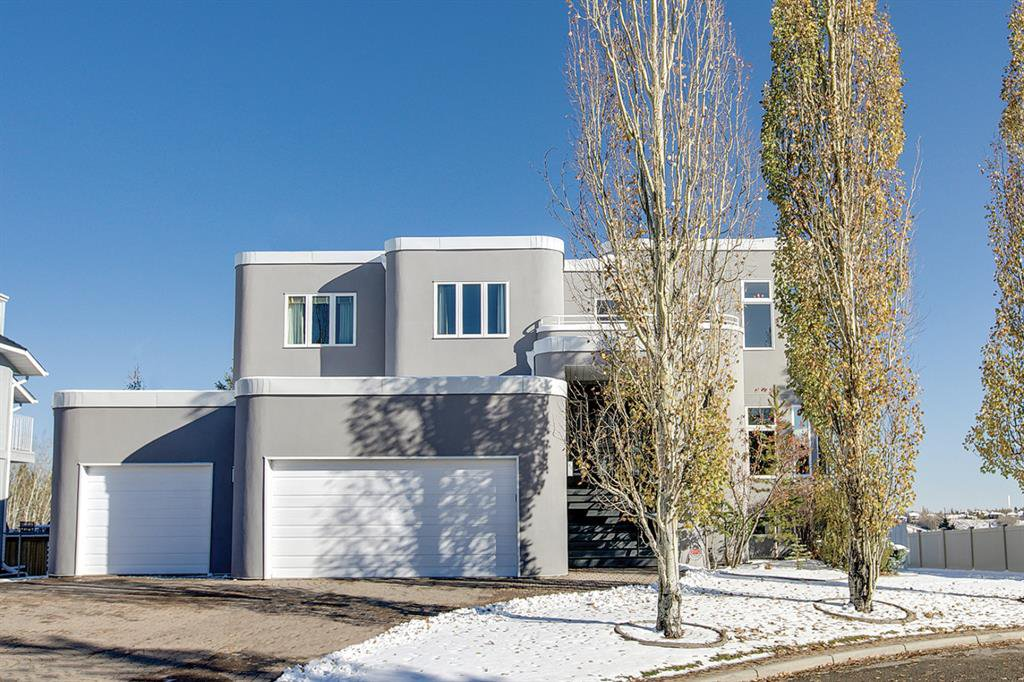 Beautiful & modern exterior with brand new stucco