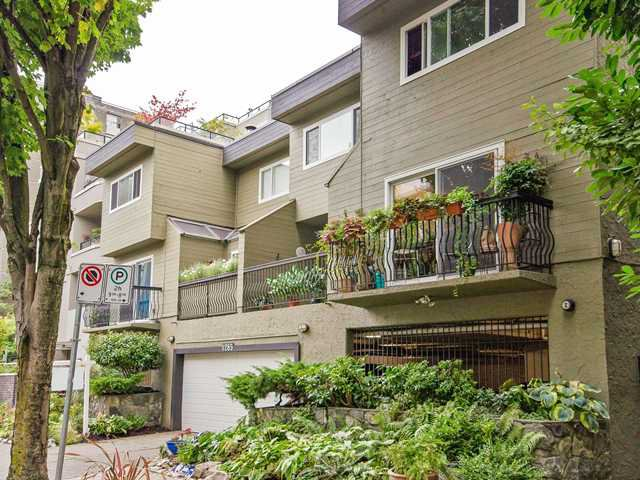 "Main Photo: 1 1285 HARWOOD Street in Vancouver: West End VW Townhouse for sale in ""HARWOOD COURT"" (Vancouver West)  : MLS®# V943710"