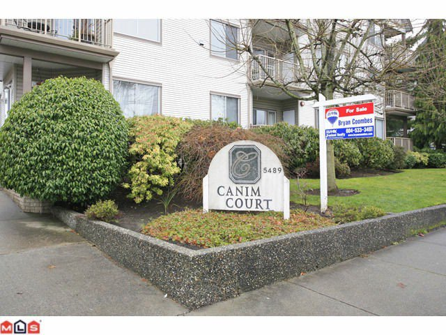 "Main Photo: 202 5489 201ST Street in Langley: Langley City Condo for sale in ""CANIM COURT"" : MLS®# F1210773"