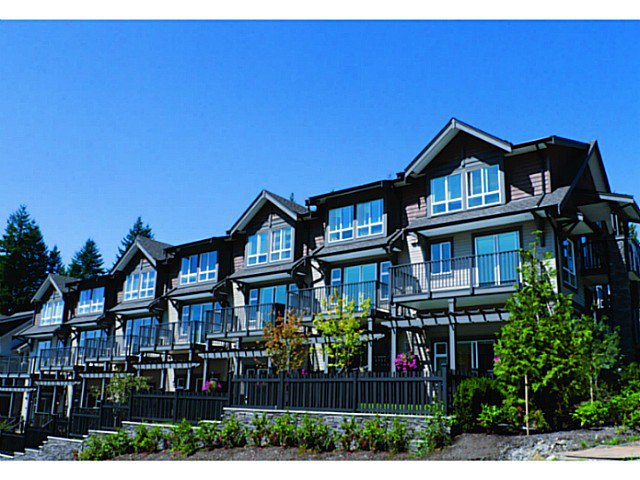 "Main Photo: 102 1480 SOUTHVIEW Street in Coquitlam: Burke Mountain Townhouse for sale in ""CEDAR CREEK"" : MLS®# V1011479"