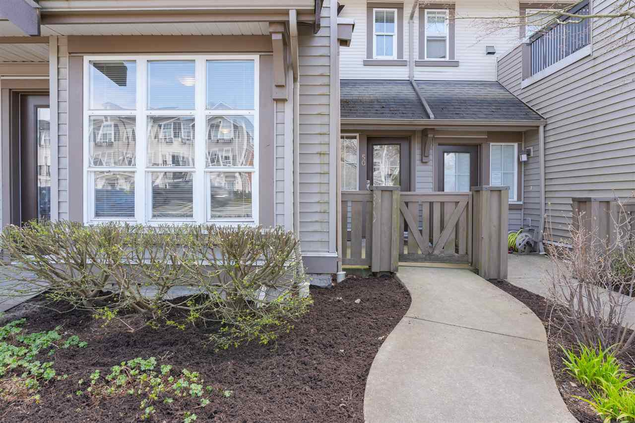 Main Photo: 50 7155 189 Street in Surrey: Clayton Townhouse for sale (Cloverdale)  : MLS®# R2450036