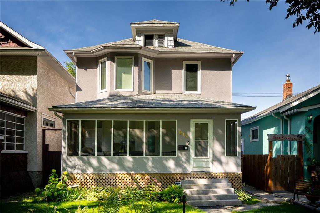 Main Photo: 612 Sherburn Street in Winnipeg: West End Residential for sale (5C)  : MLS®# 202022399