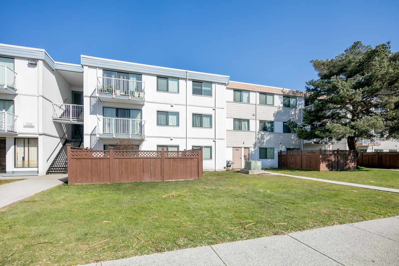 "Main Photo: 206 7260 LINDSAY Road in Richmond: Granville Condo for sale in ""SUSSEX SQUARE"" : MLS®# R2519012"