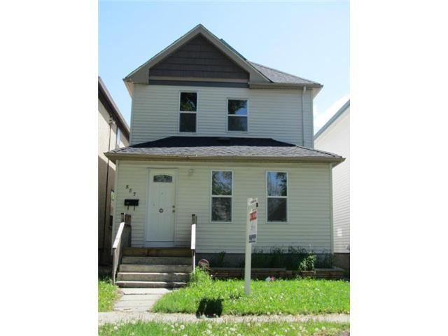 Main Photo: 557 Victor Street in WINNIPEG: West End / Wolseley Residential for sale (West Winnipeg)  : MLS®# 1210872