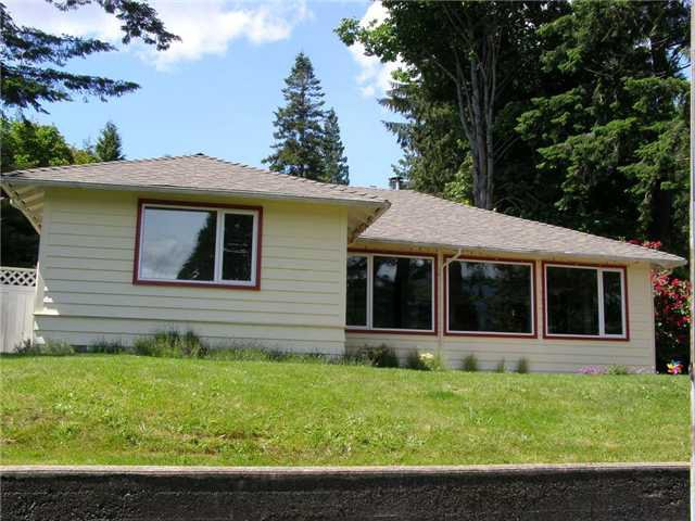 Main Photo: 1145 SENATOR Road: Bowen Island House for sale : MLS®# V1012324