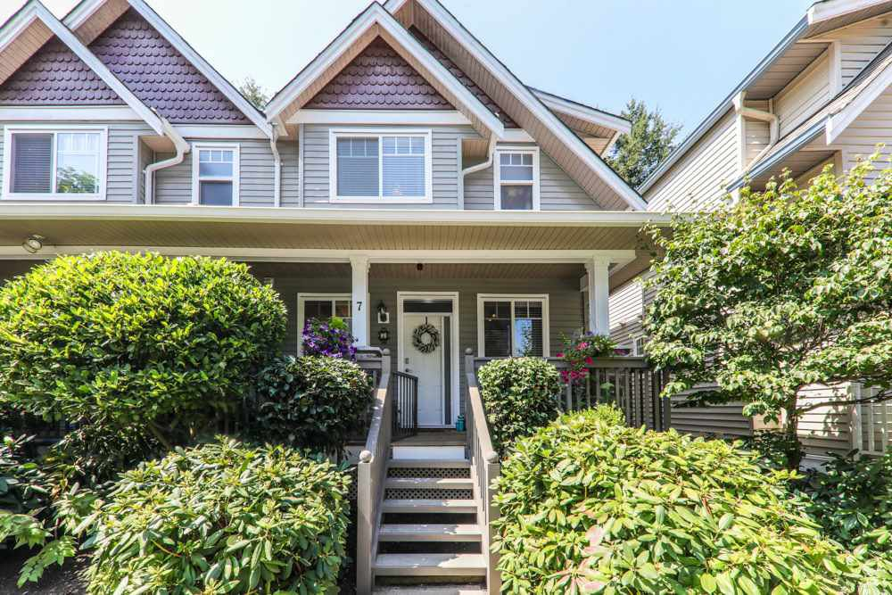 Main Photo: 7 19063 MCMYN ROAD in Pitt Meadows: Mid Meadows Townhouse for sale : MLS®# R2295397