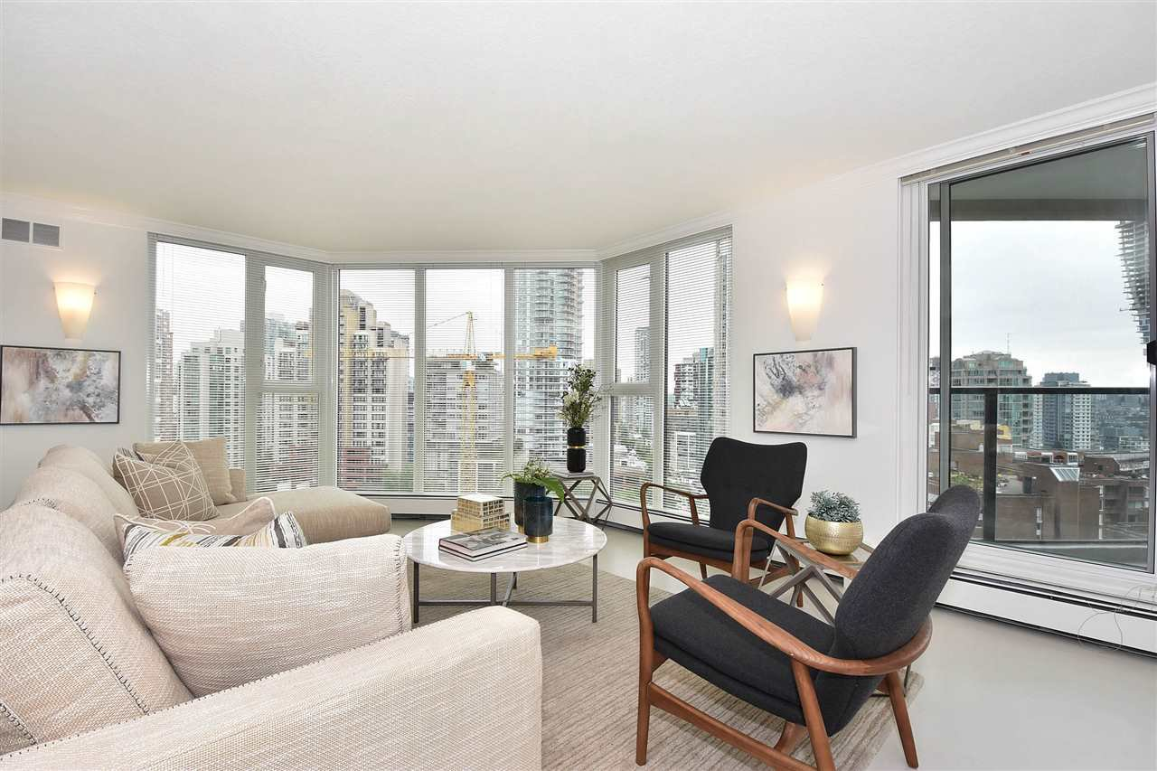Main Photo: 1205 1010 BURNABY STREET in : West End VW Condo for sale : MLS®# R2270420