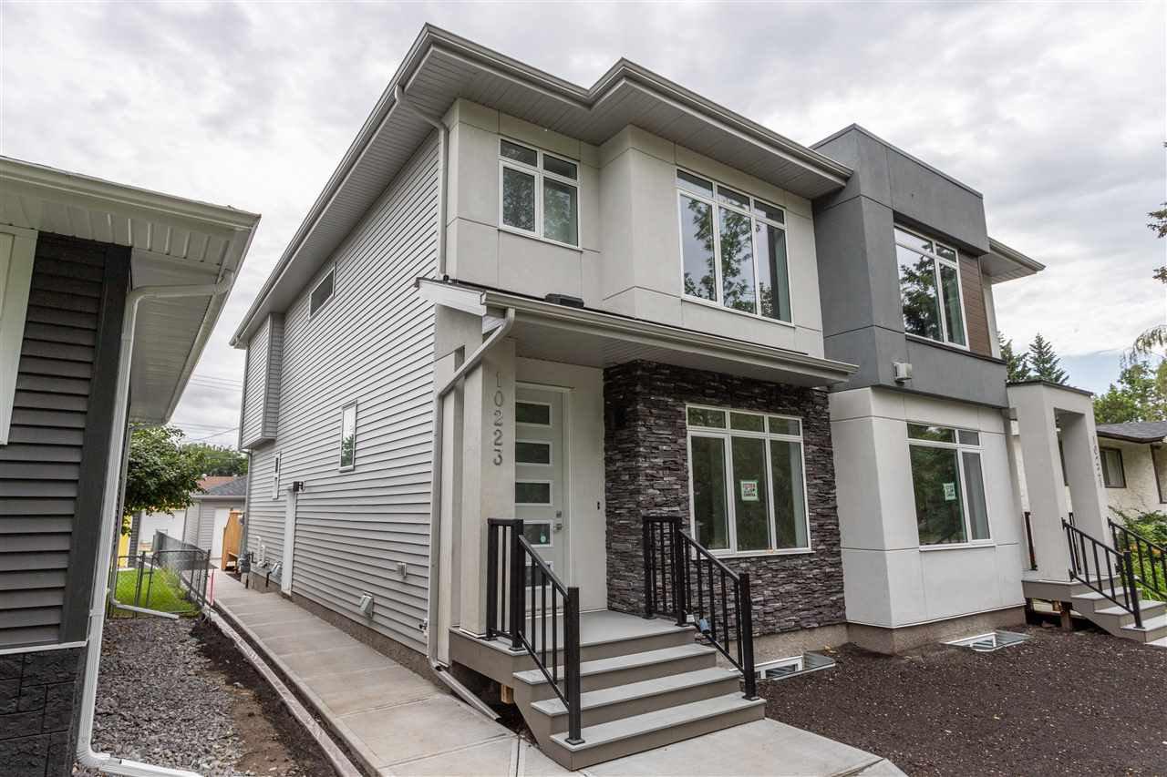 Main Photo: 10223 80 Street in Edmonton: Zone 19 House Half Duplex for sale : MLS®# E4169289