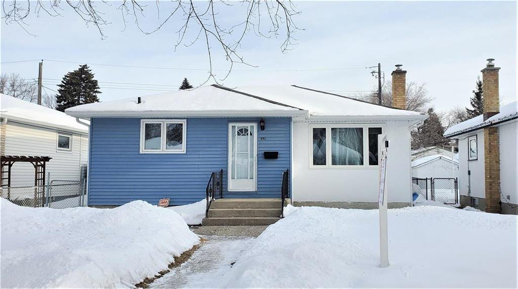 Main Photo: 993 Fleming Avenue in Winnipeg: East Kildonan Residential for sale (3B)  : MLS®# 202003226