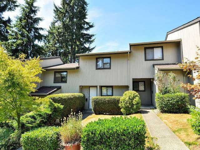 """Main Photo: 887 CUNNINGHAM Lane in Port Moody: North Shore Pt Moody Townhouse for sale in """"WOODSIDE VILLAGE"""" : MLS®# V1021537"""