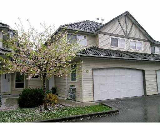 Main Photo: 73 758 RIVERSIDE Drive in Port Coquitlam: Riverwood Home for sale ()  : MLS®# V584559