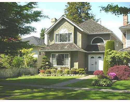 Main Photo: 2233 47TH Ave in Vancouver West: Home for sale : MLS®# V647954