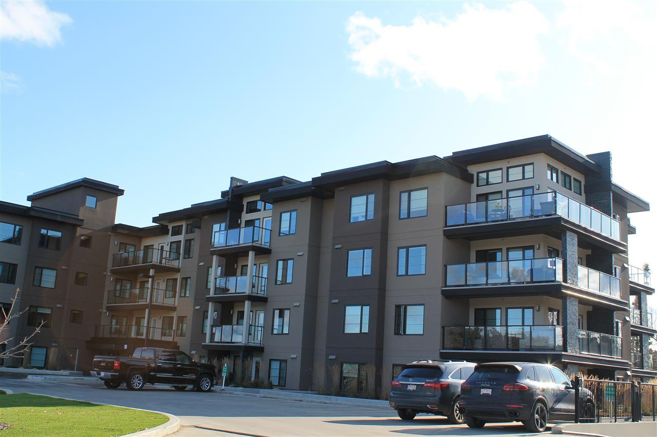 Main Photo: 409 5025 EDGEMONT Boulevard NW in Edmonton: Zone 57 Condo for sale : MLS®# E4177500