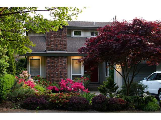 "Main Photo: 504 1ST Street in New Westminster: Queens Park House for sale in ""QUEEN'S PARK"" : MLS®# V937080"