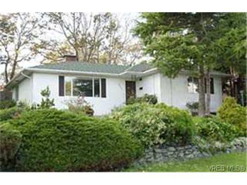 Main Photo:  in VICTORIA: SE Cedar Hill House for sale (Saanich East)  : MLS®# 350757