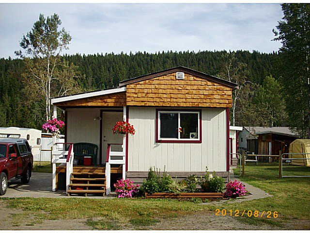 Main Photo: 5843 HORSE LAKE Road in 100 Mile House: 100 Mile House - Town Manufactured Home for sale (100 Mile House (Zone 10))  : MLS®# N224349