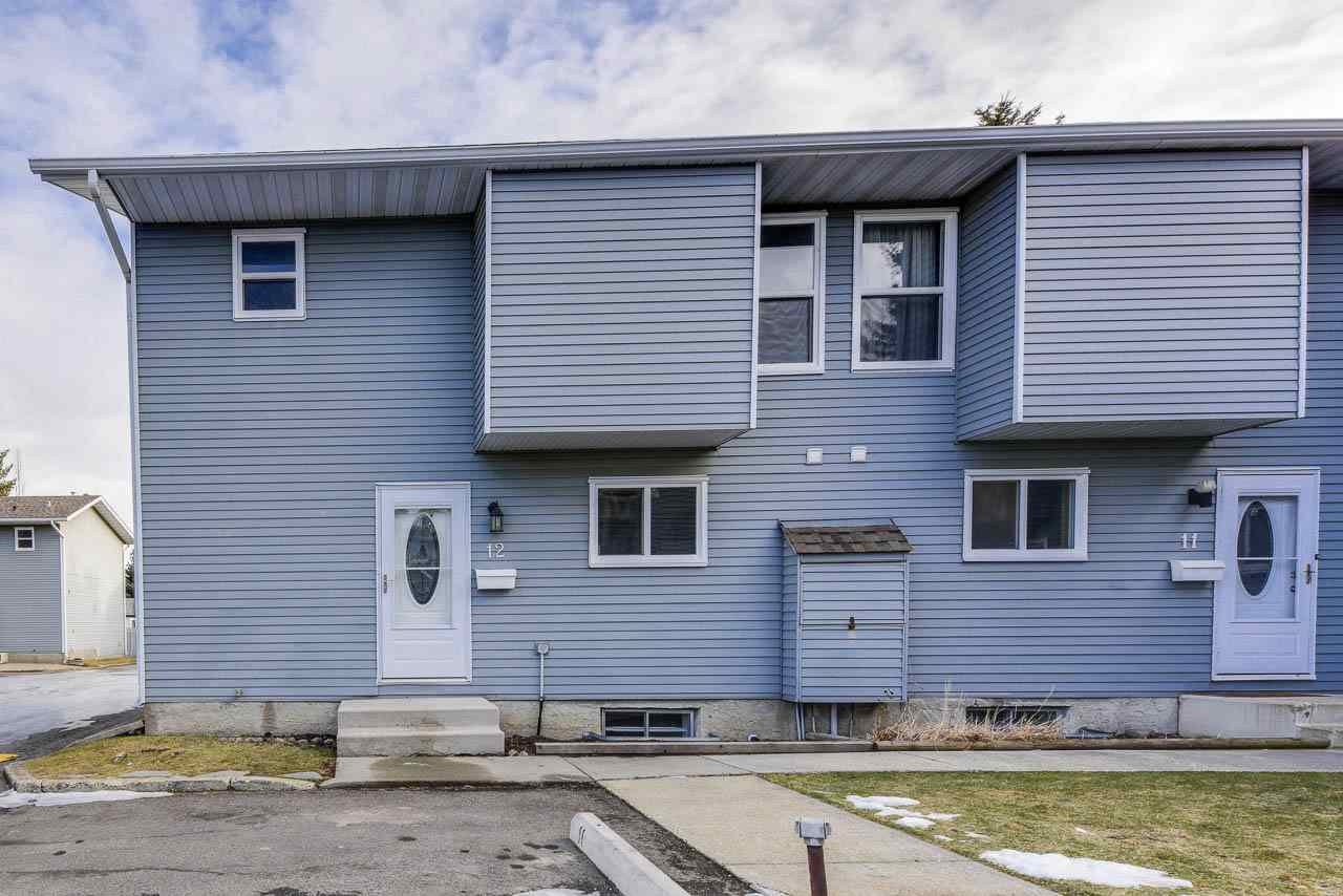 Main Photo: 12 4403 RIVERBEND Road in Edmonton: Zone 14 Townhouse for sale : MLS®# E4180793