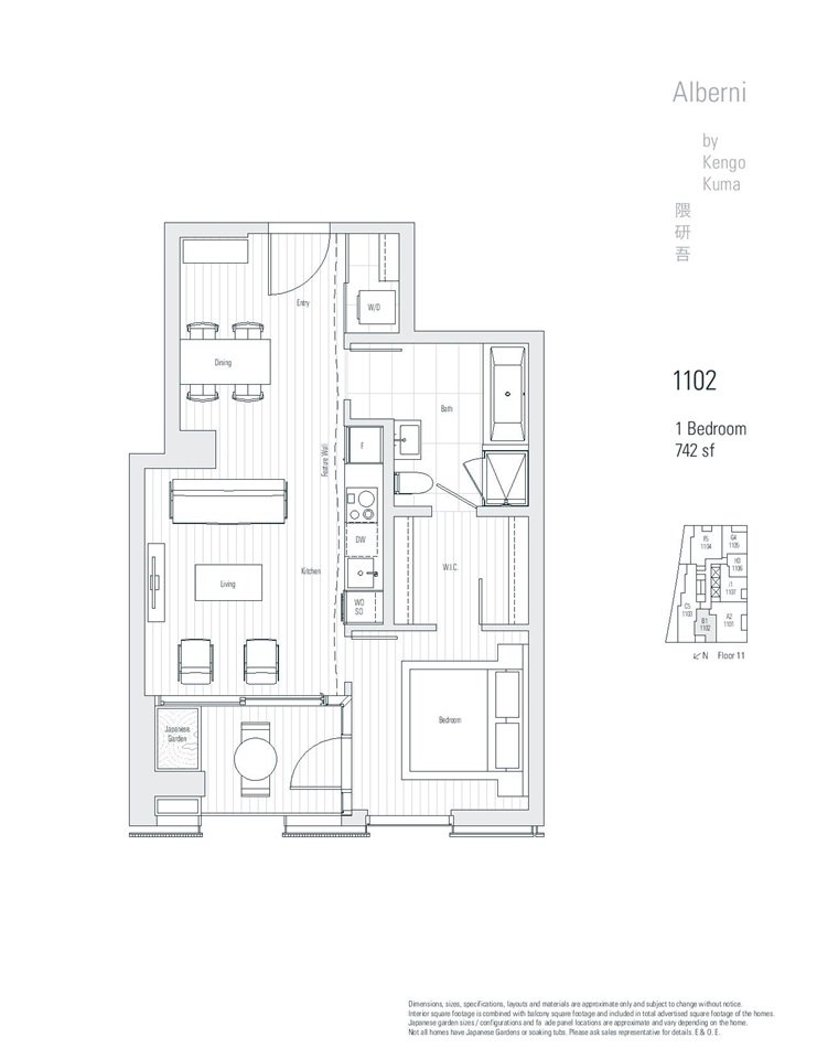 Main Photo: 1102 1550 ALBERNI Street in Vancouver: West End VW Condo for sale (Vancouver West)  : MLS®# R2422318