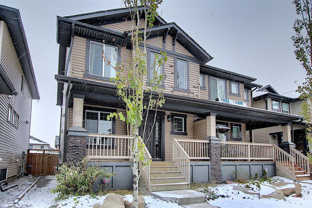 Main Photo: 50 Skyview Point Link NE in Calgary: Skyview Ranch Semi Detached for sale : MLS®# A1039930