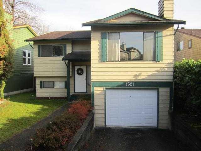 Main Photo: 1321 NESTOR Street in Coquitlam: New Horizons House for sale : MLS®# V940214
