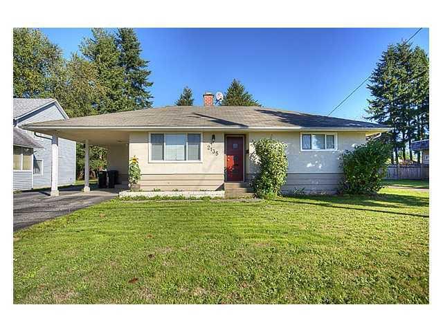 Main Photo: 2135 PRAIRIE Avenue in Port Coquitlam: Glenwood PQ House for sale : MLS®# V942962