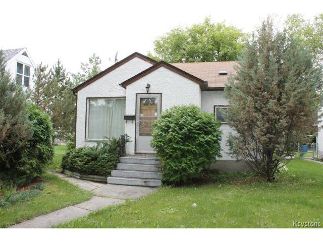 Main Photo: 1212 Strathcona Street in WINNIPEG: West End / Wolseley Residential for sale (West Winnipeg)  : MLS®# 1421047