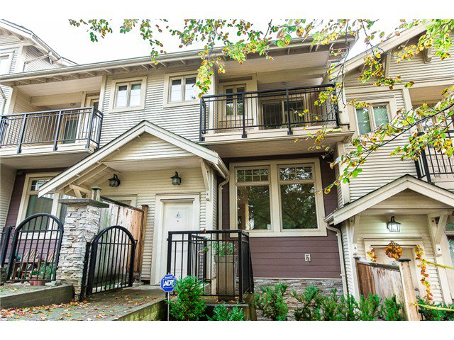 Main Photo: # 51 245 FRANCIS WY in New Westminster: Fraserview NW Condo for sale : MLS®# V1090429