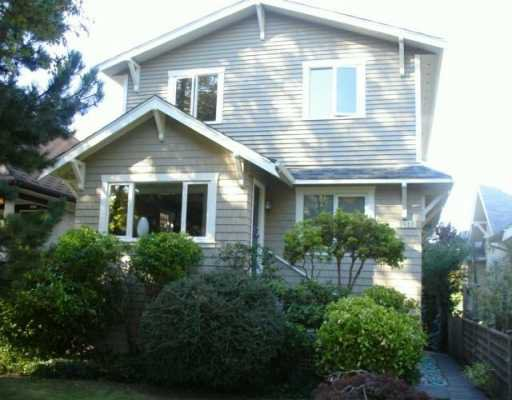 Main Photo: 3821 W 22ND Ave in Vancouver: Dunbar House for sale (Vancouver West)  : MLS®# V614547