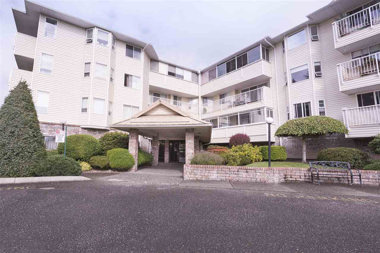 "Main Photo: 108 8725 ELM Drive in Chilliwack: Chilliwack E Young-Yale Condo for sale in ""ELMWOOD TERRACE"" : MLS®# R2490695"