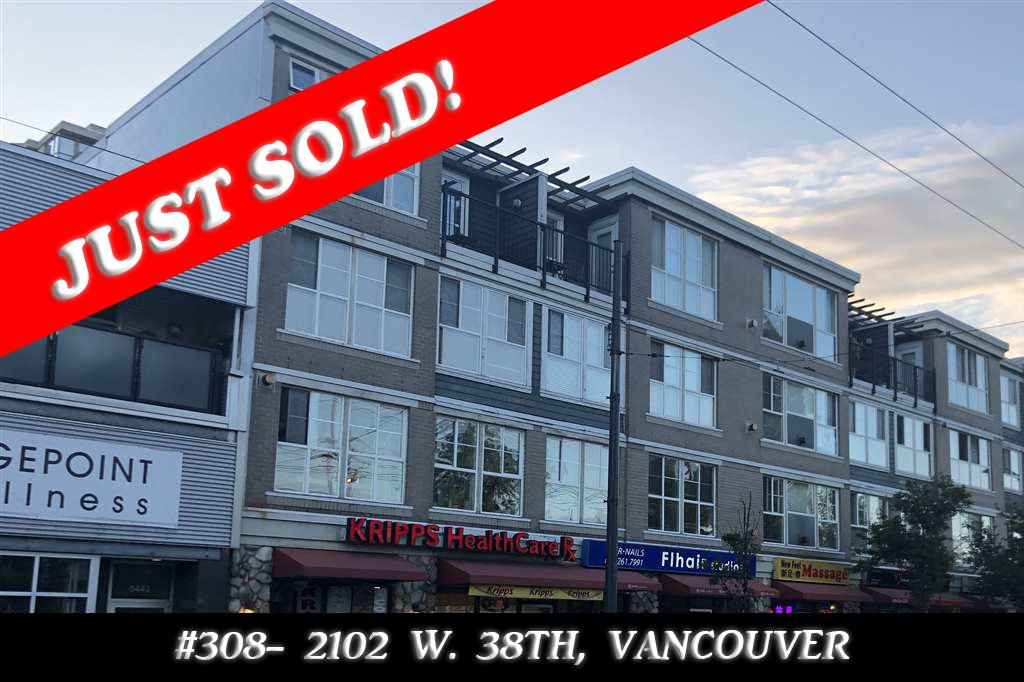 Main Photo: 308 2102 W 38TH AVENUE in Vancouver: Kerrisdale Condo for sale (Vancouver West)  : MLS®# R2480305