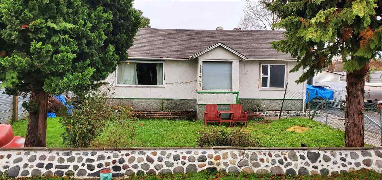 Main Photo: 11437 124 Street in Surrey: Bridgeview House for sale (North Surrey)  : MLS®# R2444529