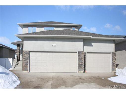Main Photo: 4130 GOLDFINCH Way in Regina: The Creeks Single Family Dwelling for sale (Regina Area 04)  : MLS®# 460104