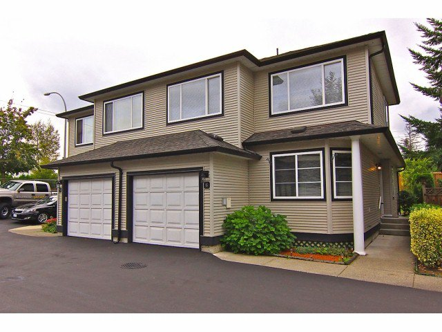 """Main Photo: # 6 9559 208TH ST in Langley: Walnut Grove Townhouse for sale in """"Derby Creek"""" : MLS®# F1320113"""