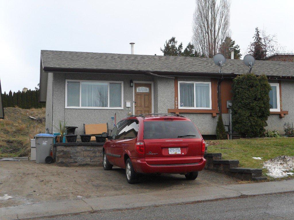 Main Photo: 1677 Selwyn Rd in Kamloops: Sahali House 1/2 Duplex for sale : MLS®# 131993
