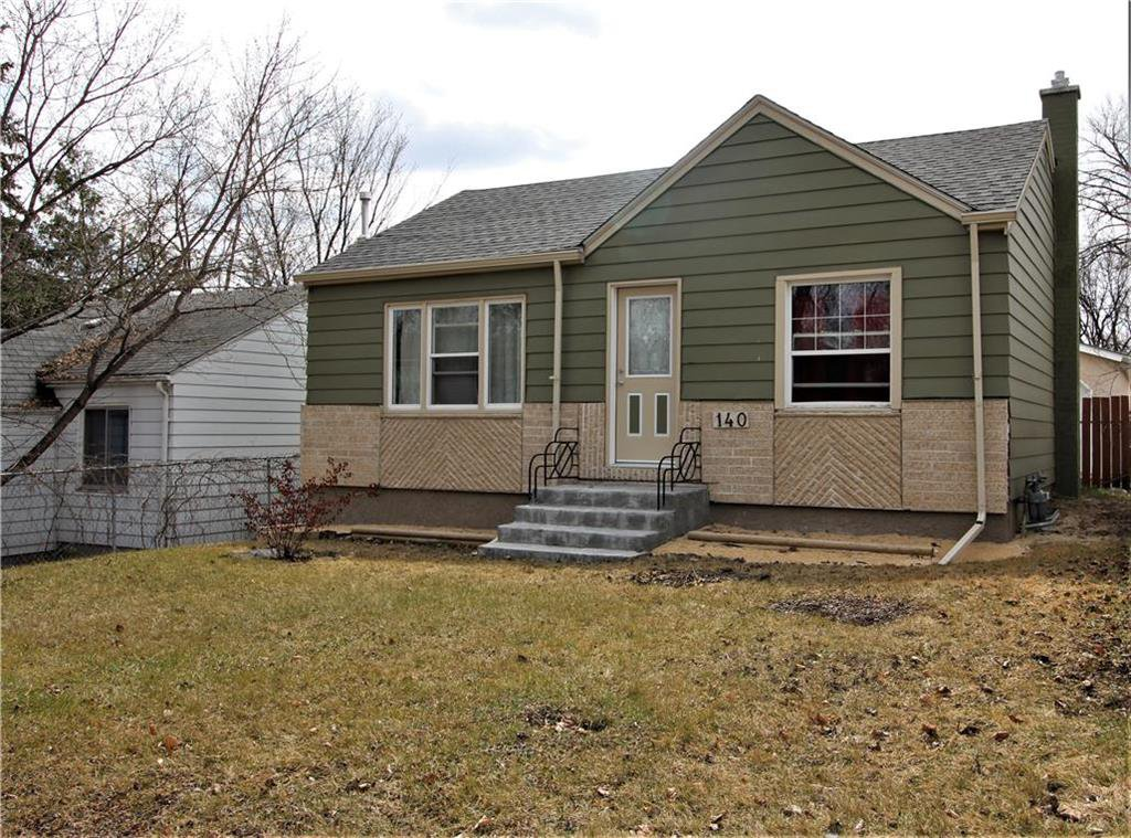 Main Photo: 140 Seven Oaks Avenue in Winnipeg: Scotia Heights Residential for sale (4D)  : MLS®# 202008761