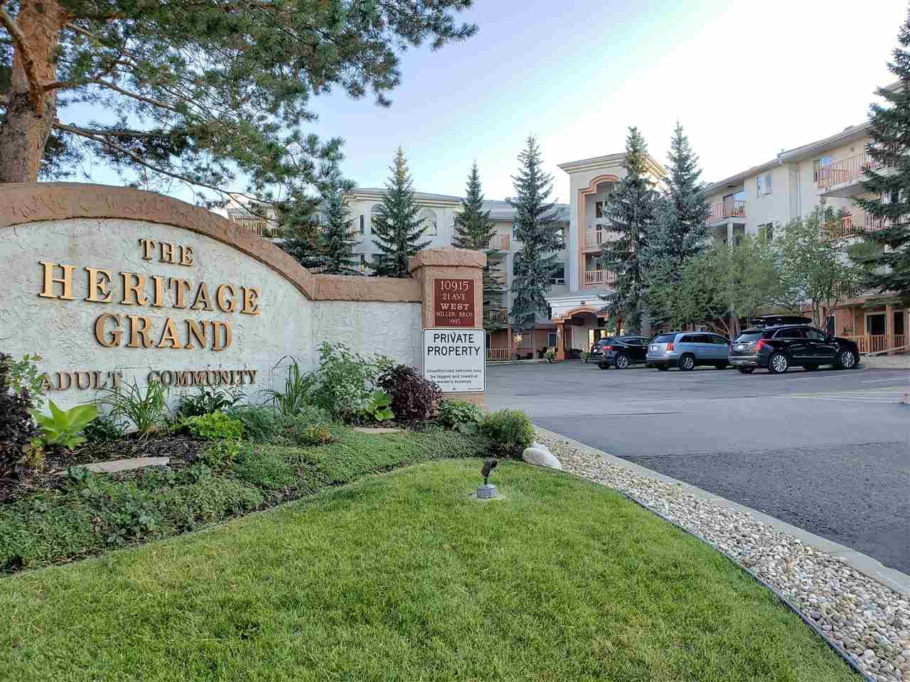 Main Photo: 306 10915 21 Avenue in Edmonton: Zone 16 Condo for sale : MLS®# E4201036