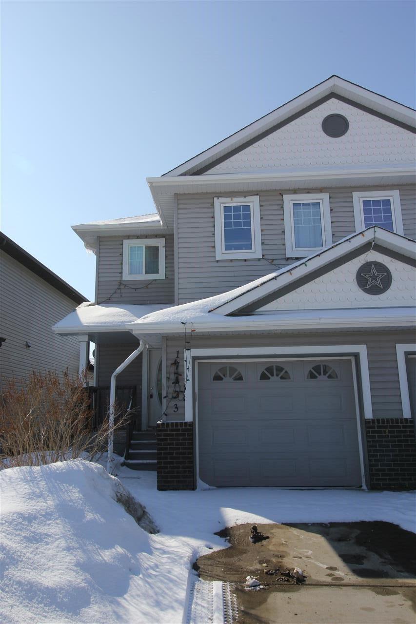 Main Photo: 17123 7A Avenue in Edmonton: Zone 56 House Half Duplex for sale : MLS®# E4208229