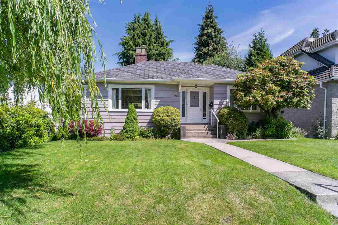 Main Photo: 85 W KING EDWARD Avenue in Vancouver: Cambie House for sale (Vancouver West)  : MLS®# R2485309