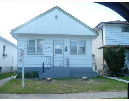 Main Photo: 424 SEYMOUR ST in WINNIPEG: Residential for sale (Canada)  : MLS®# 2911663