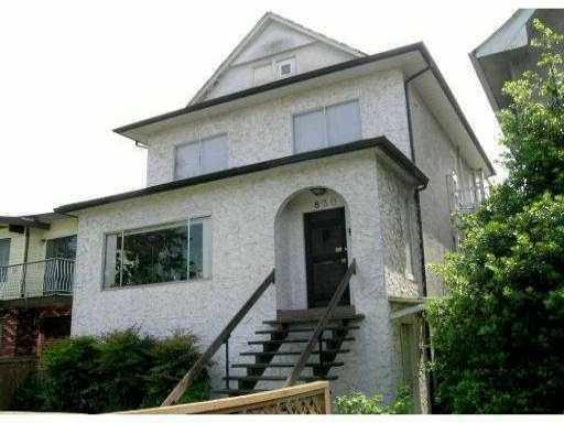 Main Photo: 830 E 12TH AV in : Mount Pleasant VE House for sale : MLS®# V862339