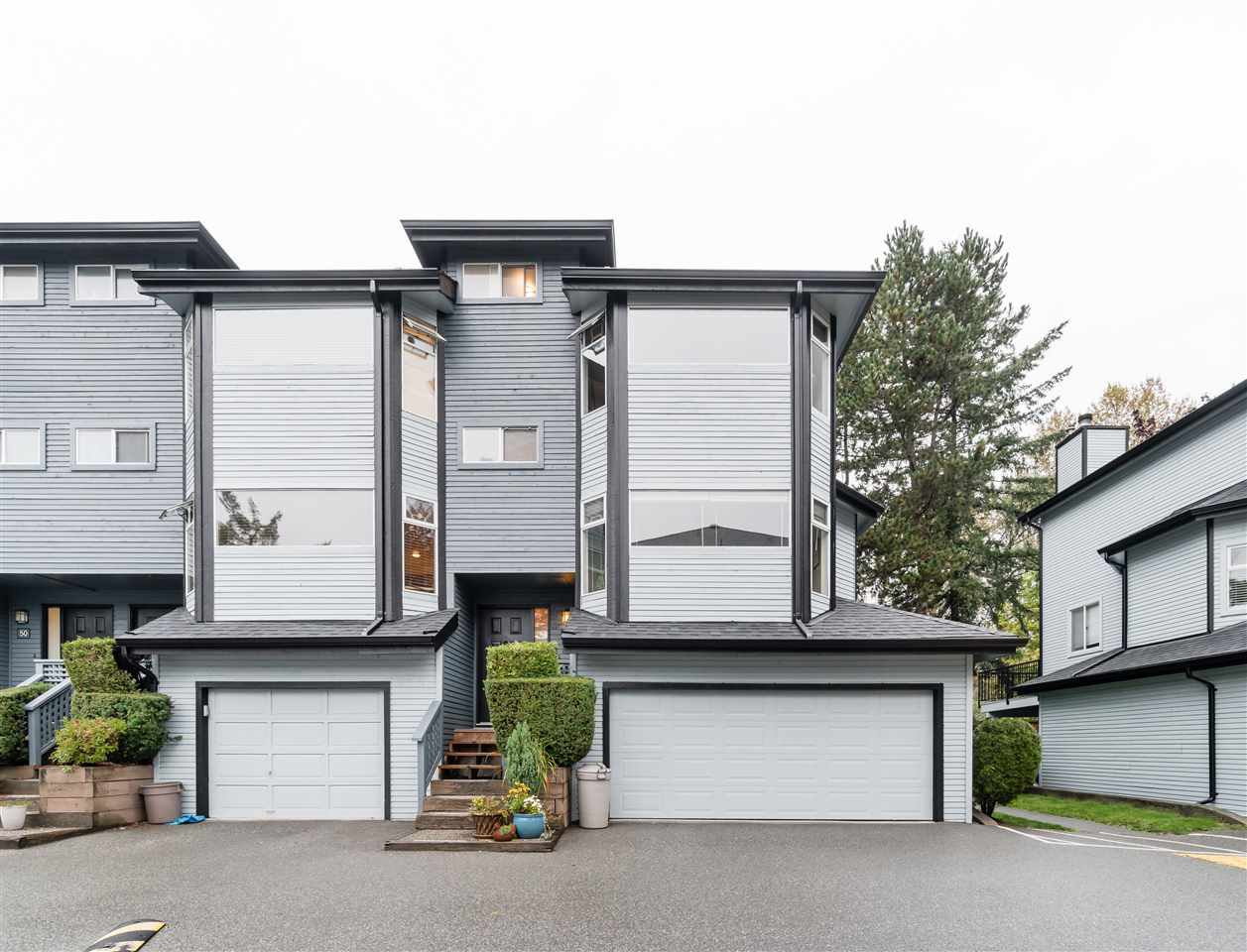 Main Photo: 52 1195 FALCON DRIVE in Coquitlam: Eagle Ridge CQ Townhouse for sale : MLS®# R2411804