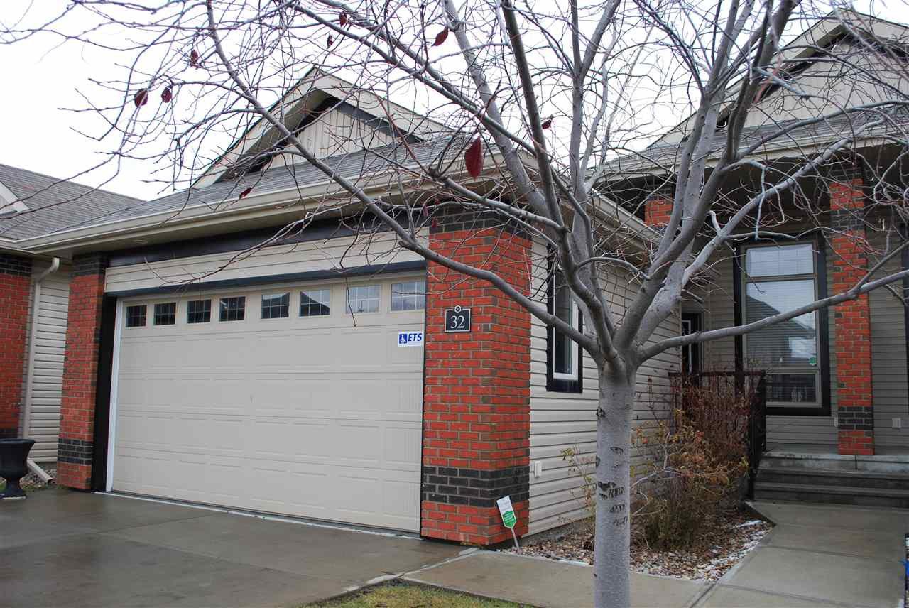 Main Photo: 32 841 156 Street in Edmonton: Zone 14 House Half Duplex for sale : MLS®# E4179444