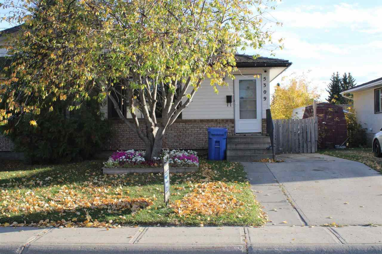 Main Photo: 5309 38 Avenue: Wetaskiwin House Half Duplex for sale : MLS®# E4201413