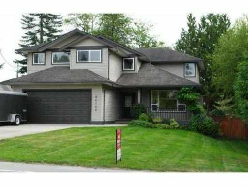 Main Photo: 24100 102ND Avenue in Maple Ridge: Albion House for sale : MLS®# V987717
